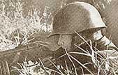 Солдат в каске СШ 36