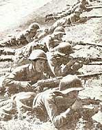Солдаты на огневой позиции